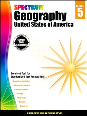 Spectrum Geography, Grade 5 (2015 Edition)  -