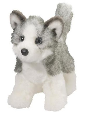 Blaze Husky, Plush Dog  -