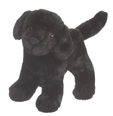 Abraham Black Lab, Plush Dog  -