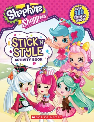 Shopkins Stick n Style Fun!    -     By: Leigh Stephens
