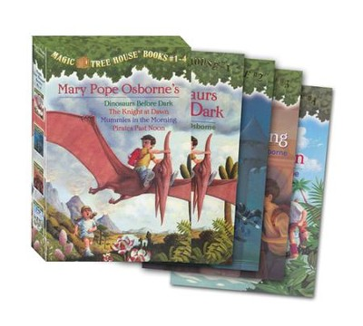 Magic Tree House: Books 1-4 Boxed Set  -     By: Mary Pope Osborne     Illustrated By: Sal Murdocca
