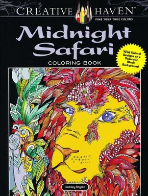 Midnight Safari Coloring Book  -     By: Lindsey Boylan