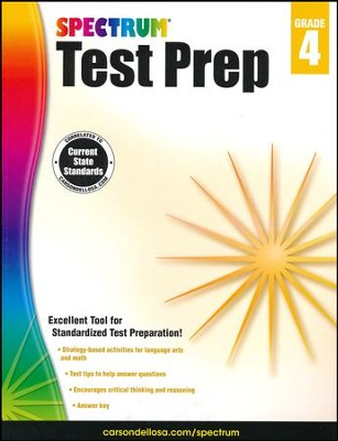 Spectrum Test Prep, Grade 4 (2015 Edition)  -