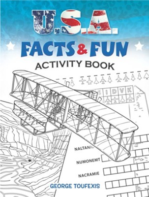 U.S.A. Facts & Fun Activity Book  -     By: George Toufexis