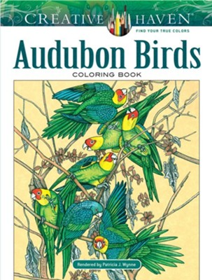 Audubon Birds Coloring Book  -     By: Patricia J. Wynne