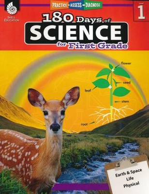 180 Days of Science for First Grade   -     By: Lauren Homayoun