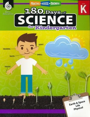 180 Days of Science for Kindergarten   -     By: Lauren Homayoun