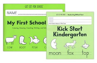 Transition to Kindergarten Set (My First School Book & Kick Start Kindergarten)  -
