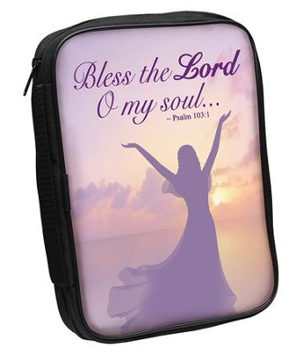 Bless the Lord, O My Soul, Bible Cover, Woman  -