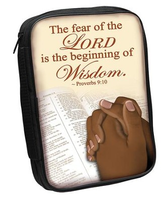 The Fear Of the Lord Is the Beginning Of Wisdom Bible Cover  -