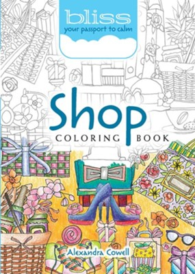 Shop Coloring Book  -     By: Alexandra Cowell
