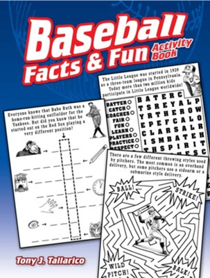 Baseball Facts & Fun Activity Book  -     By: Tony J. Tallarico