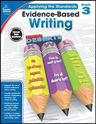 Evidence-Based Writing, Ages 8 to 9  -