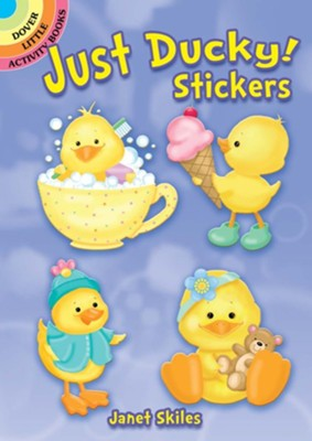Just Ducky! Stickers  -     By: Janet Skiles