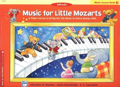 Music for Little Mozarts, Music Lesson Book 1   -     By: Christine H. Barden, Gayle Kowalchyk, E.L. Lancaster