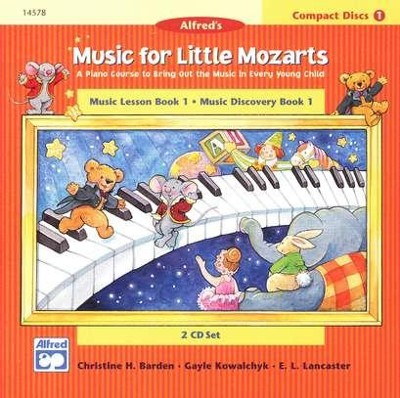 Music For Little Mozarts, CDs for Level 1   -     By: Christine H. Barden