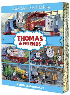 Thomas & Friends Little Golden Book Library (Thomas & Friends)  -     By: Tommy Stubbs (Illustrator)     Illustrated By: Tommy Stubbs