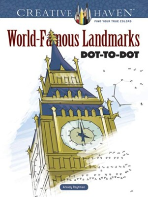 World-Famous Landmarks Dot-to-Dot  -     By: Arkady Roytman