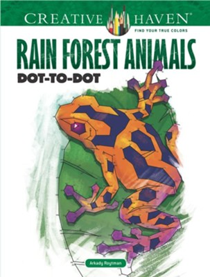 Rain Forest Animals Dot-to-Dot  -     By: Arkady Roytman