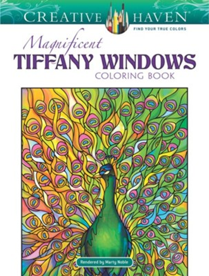 Tiffany Windows Coloring Book  -     By: Marty Noble