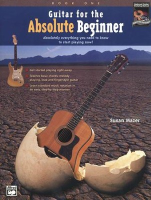 Guitar for the Absolute Beginner Book and CD   -