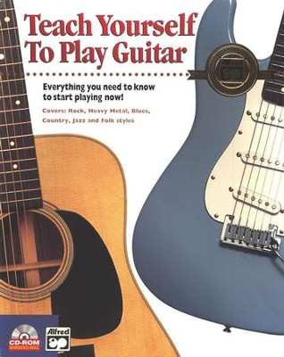 Teach Yourself to Play Guitar CD-ROM   -     By: Software