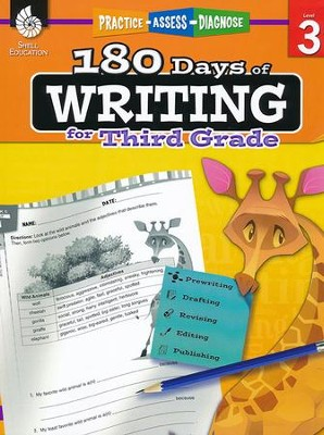 180 Days of Writing for Third Grade (Level 3)   -     By: Kristi Sturgeon