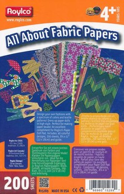 All About Fabric Papers (200 Sheets)   -