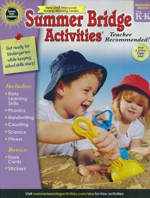 Summer Bridge Activities--Ages 4 to 5   -