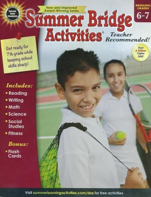 Summer Bridge Activities, Ages 11 to 12  -