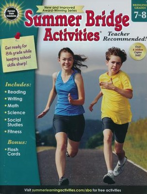 Summer Bridge Activities, Ages 12 to 13  -