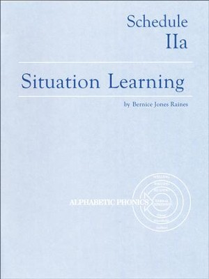 Situation Learning Schedule 2A Student's Study Book  -