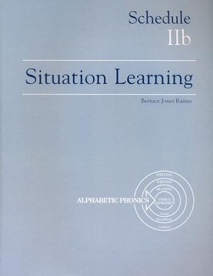 Situation Learning Schedule 2B Student's Study Book  -
