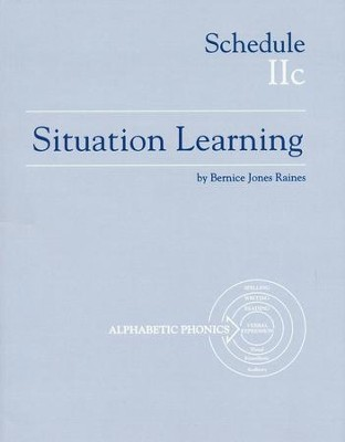 Situation Learning Schedule 2C Student's Study Book  -
