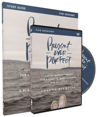 Present Over Perfect, Study Guide with DVD  -     By: Shauna Niequist