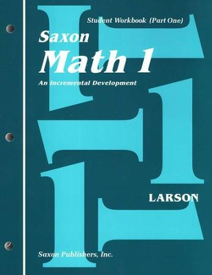 Saxon Math 1, Student Work Kit & Fact Cards   -