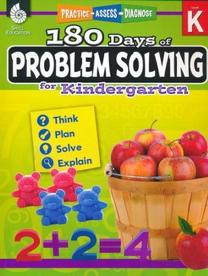 180 Days of Problem Solving for Kindergarten (Level K)   -