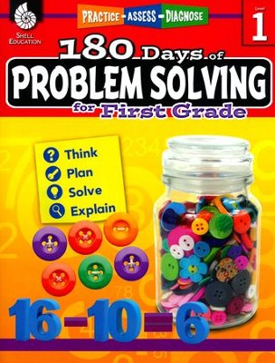 180 Days of Problem Solving for First Grade (Level 1)   -