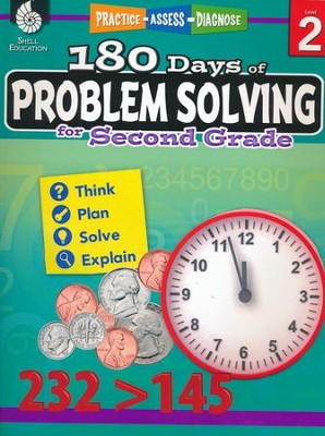180 Days of Problem Solving for Second Grade (Level 2)  -