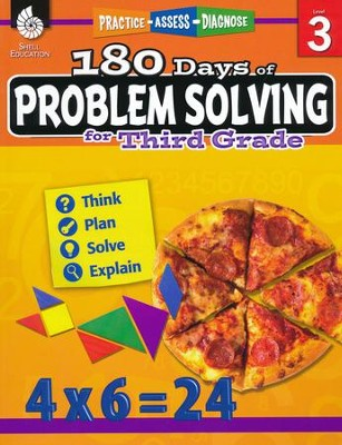 180 Days of Problem Solving for Third Grade (Level 3)   -