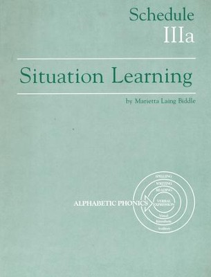Situation Learning Schedule 3A Student's Study Book  -