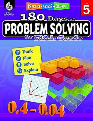 180 Days of Problem Solving for Fifth Grade (Level 5)   -