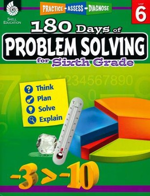 180 Days of Problem Solving for Sixth Grade (Level 6)   -
