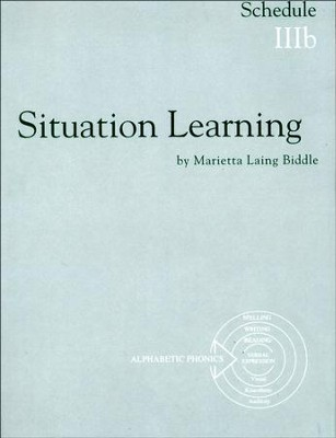 Situation Learning Schedule 3B Student's Study Book  -