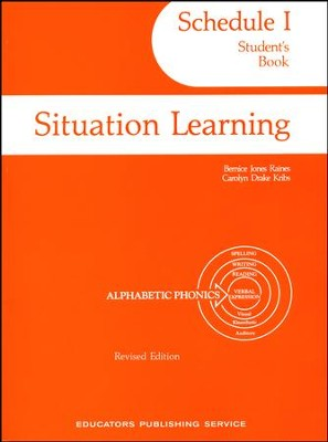 Situation Learning Schedule 1 Student's Study Book  -