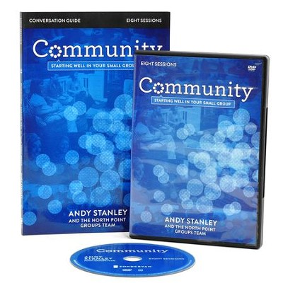Community Conversation Guide with DVD: Starting Well in Your Small Group  -     By: Andy Stanley