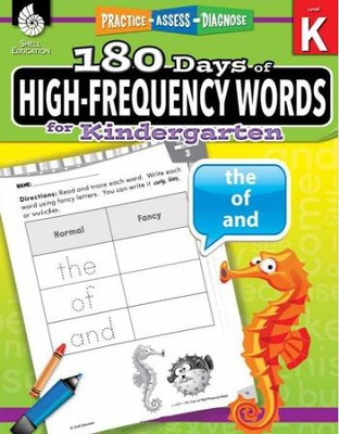 180 Days of High-Frequency Words for Kindergarten (Level K)  -