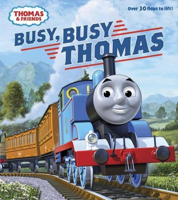 Busy, Busy Thomas (Thomas & Friends)  -     By: Rev. W. Awdry     Illustrated By: Tommy Stubbs