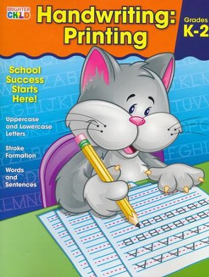 Brighter Child Handwriting: Printing  -