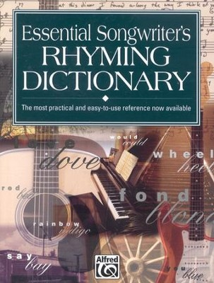 Essential Songwriter's Rhyming Dictionary   -